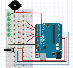 13-Potansiyometre ile Müzikli LED Yakma