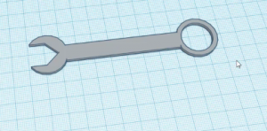 4-Tinkercad'de İngiliz Anahtarı Yapımı